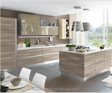 New promotional wood veneer custom made kitchen cabinet,rta furniture