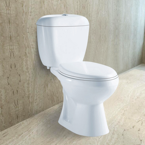 Cheap Africa Style two piece bathroom Dual flushing washdown wc water clost toilet