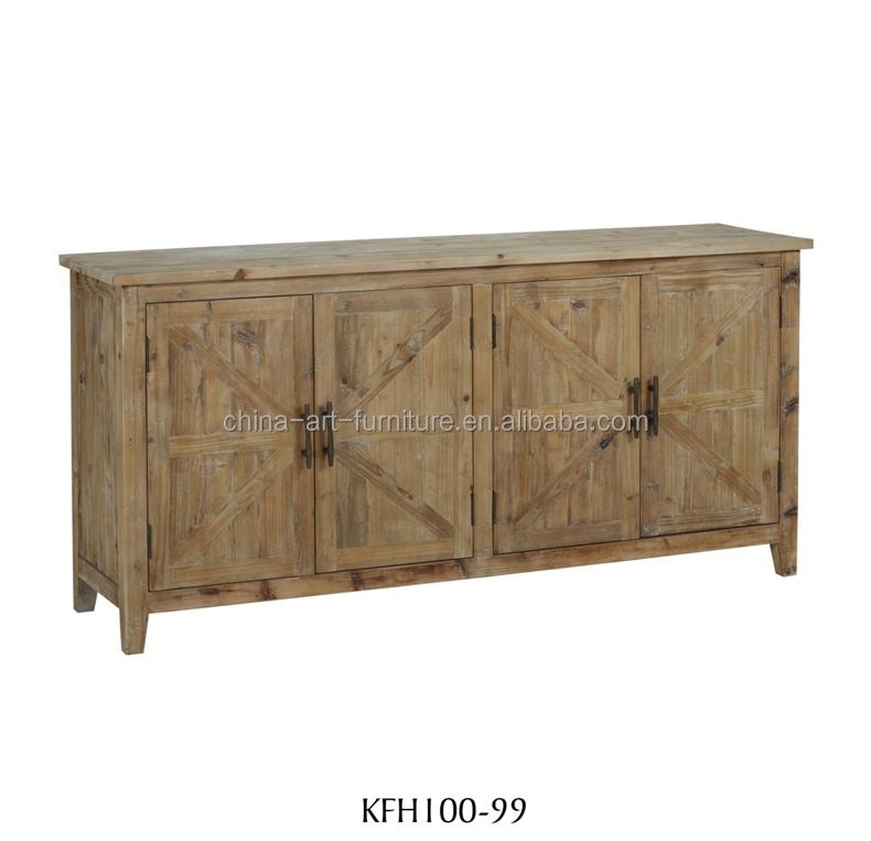4 porte rustico cabinet in legno porte parquet legno naturale mobili sala da pranzo