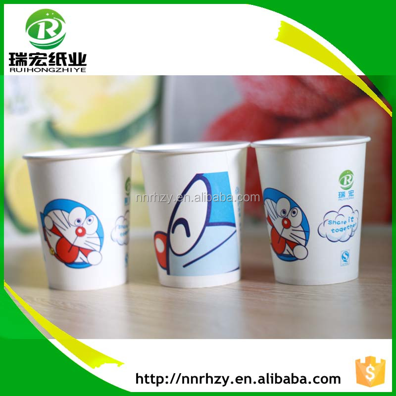 Paper factory provide design logo printed paper cups