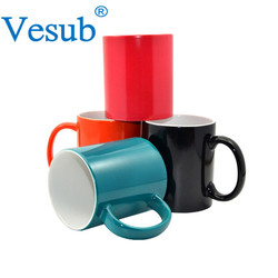 Reputable Factory Wholesale Customized 11oz Unique Design Color Changing Mug