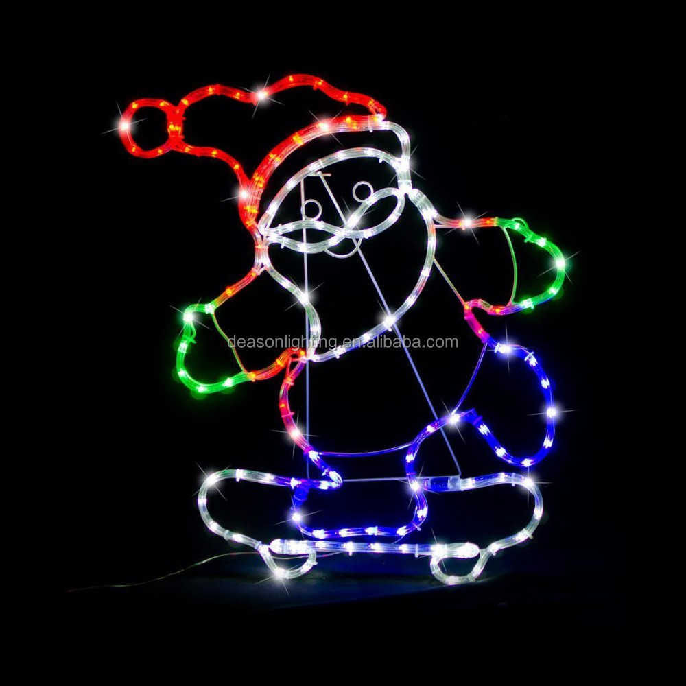 Animated snowman led rope lights silhouette outdoor christmas animated snowman led rope lights silhouette outdoor christmas decoration aloadofball Gallery