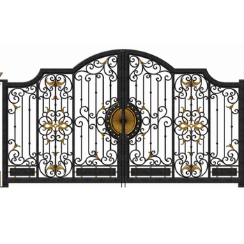 Garden Metal Steel Gate Design Simple Garage Gates