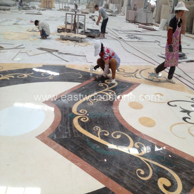 Natural Medallion Marble