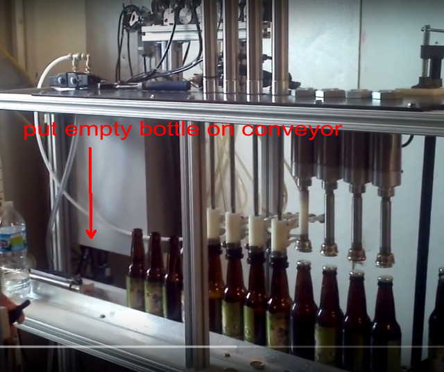 semi automatic small beer bottle filling equipment /beer making equipment