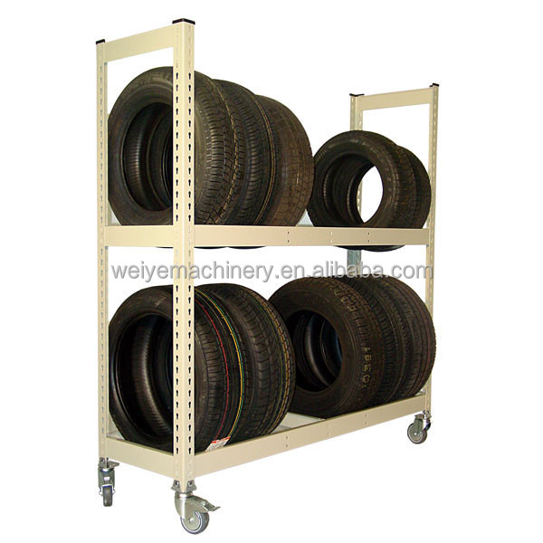 Rolling Tire Storage Rack >> Weiye Star Product Industrial Storage Mobile Tire Rack Buy Mobile