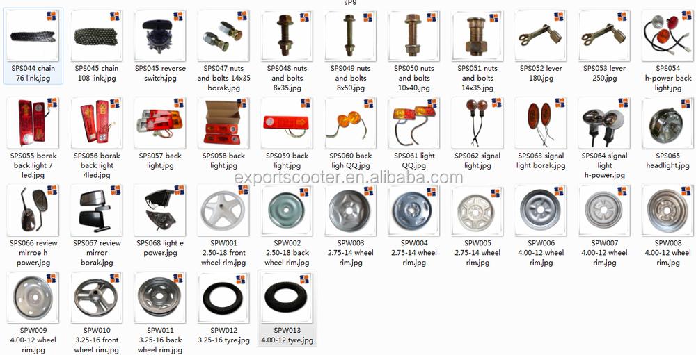 Auto car spare parts price list india 11