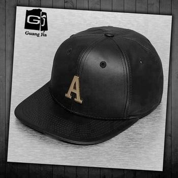 cacc8181f7e China Customize Adjust Metal Plate Logo Snapback Hat Wholesale - Buy ...