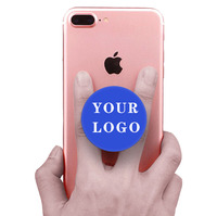 cell phone holder logo Free custom mobile phone finger grip popping up socket With popping socketsd stand opsockets