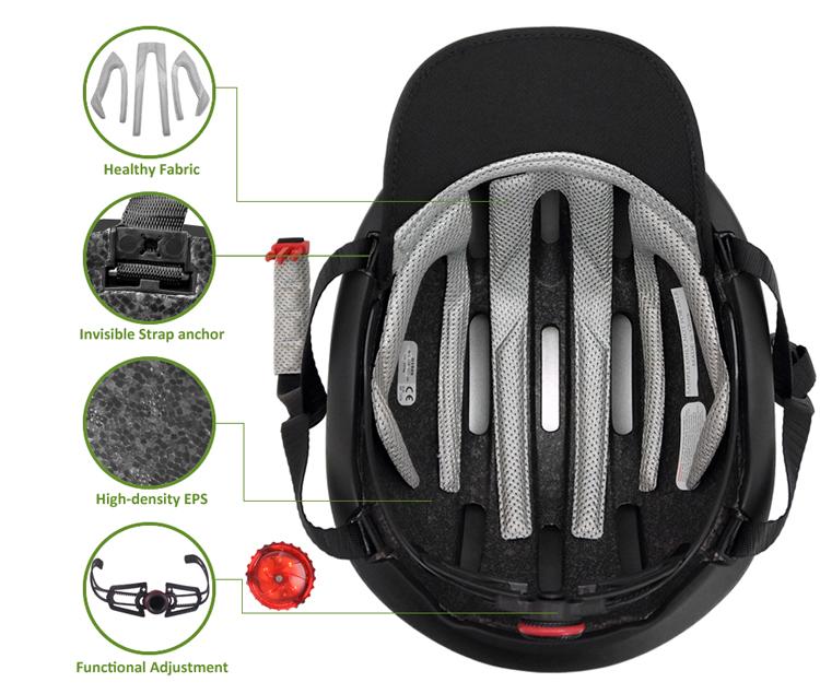 Cool classic commuting urban bike helmet 7