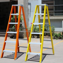 Fiberglass Double Side Step Ladder with EN131.
