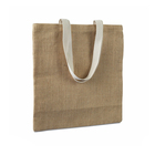 Jute Market Large Embroidery Shopping Burlap Beach Cotton Organic Hemp Tote Bag