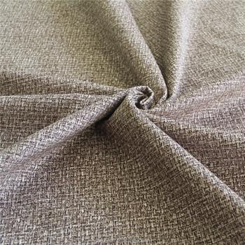 Polyester Linen Imitation Super Soft Burn Out Velvet Fabric For Sofa Chair Upholstery