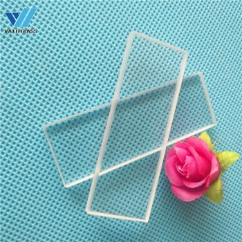 High transmission rectangular transparent uv quartz glass plate