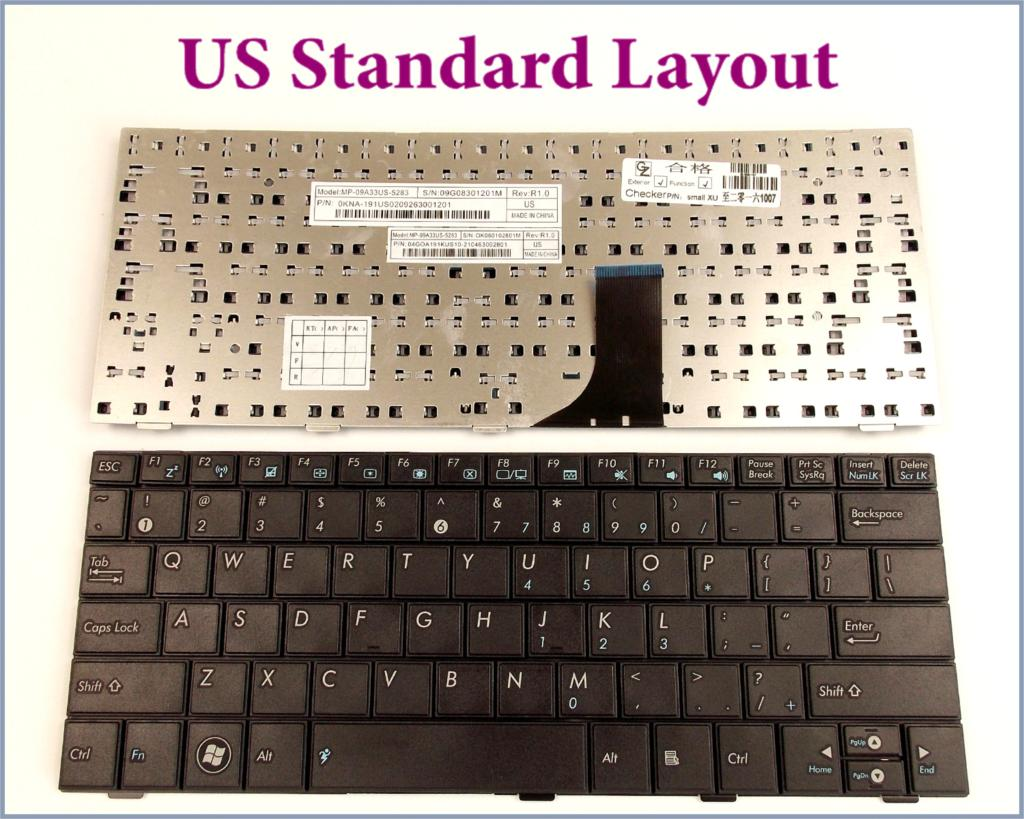 US English Layout Keyboard for ASUS EEE PC 1001 1001H 1005 ...