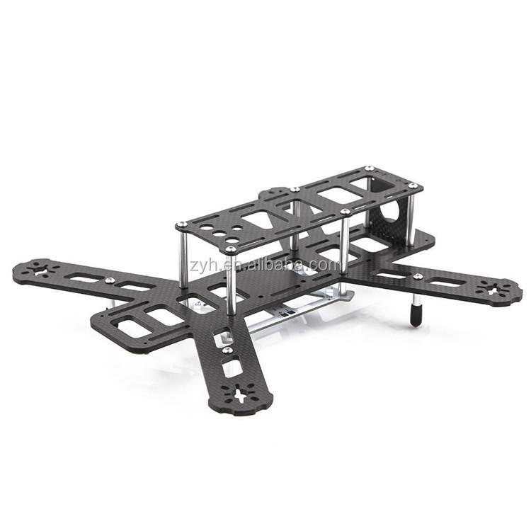 qav250 3k carbon fibre fabric mini rc plane uav drone frame carbon fiber mini fpv