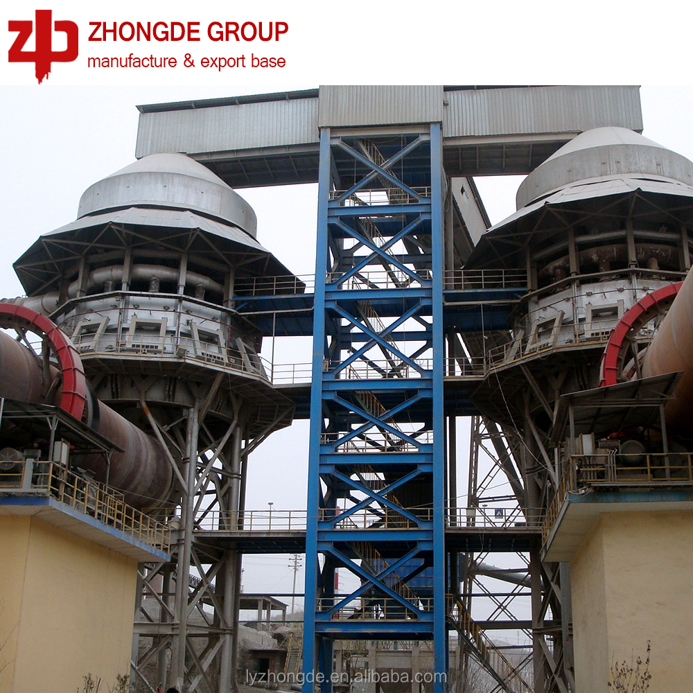 Reliable quality in whole production line gypsum rotary kiln, rotary kiln of good price