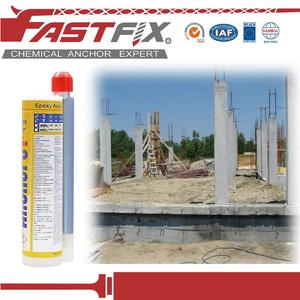 fast curing tremco vulkem 116 double components adhesives concrete anchors  epoxy