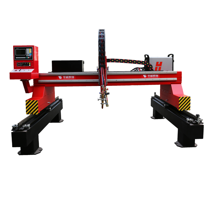 CNC Gantry Plasma <strong>Cutting</strong> Machine Steel Sheet Metal Cutter Gas Flame Cut EHNC-2500G