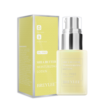 BREYLEE Shea butter oil free face moisturizer cream lotion