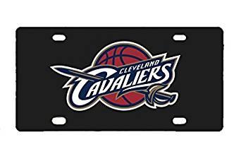 "Cleveland Cavaliers Custom Cool Metal Car License Plate 12"" X 6"""