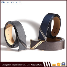 Customized Fashion Men's Genuine Leather Belts with Z Buckle