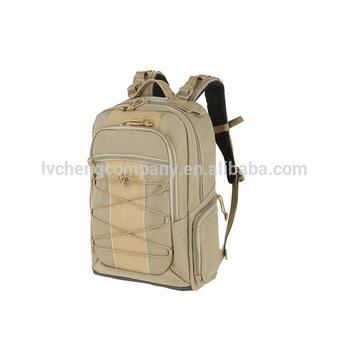 00de8e4ed3 Military Style Waterproof Laptop Bag School bag Tactical Army Backpack