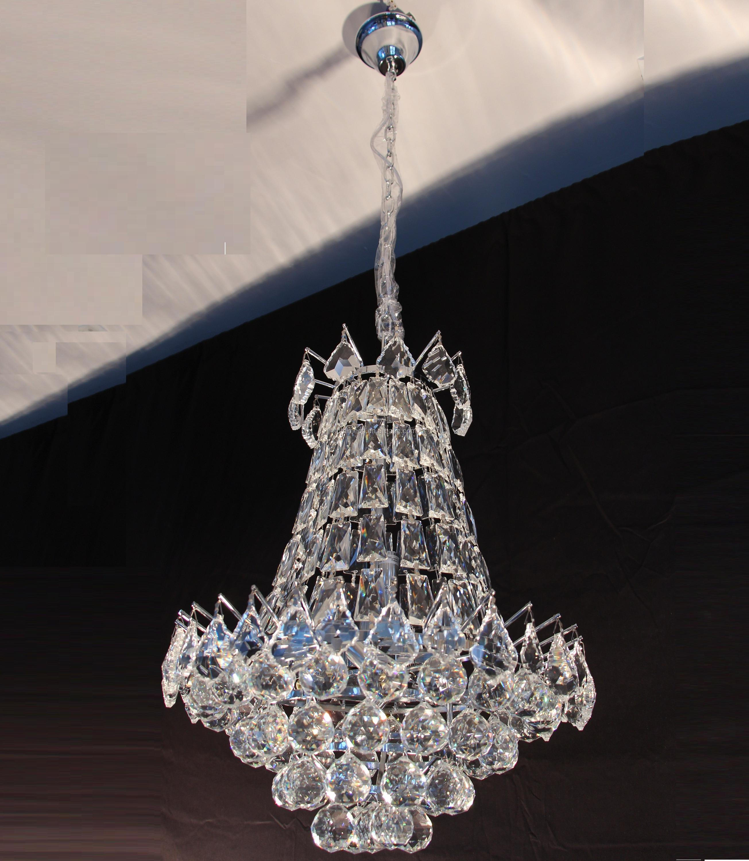French Empire Crystal Chandelier Lighting H50 X W30 Good For Foyer Entryway Family Room Living Room And More Buy K9 Crystal Chandelier Large