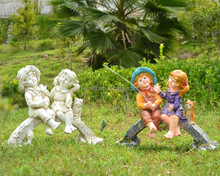 Resin Children Garden Statues Resin Children Garden Statues