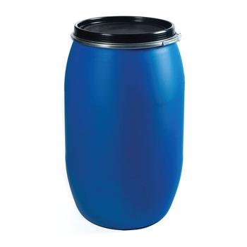 Plastic Barrel Drum 200 Litre Hdpe Open Top Blue Plastic