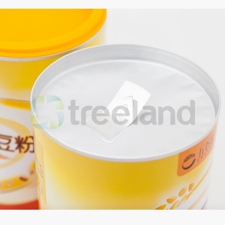 Custom Airtight Nutrition Supplement Packaging Airtight Paper Tube Packaging