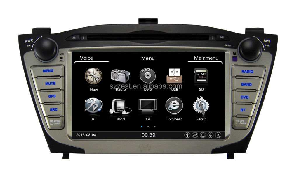car stereo multimedia system for hyundai ix35 tucson navigation dvd 2009 2010 2011 2012