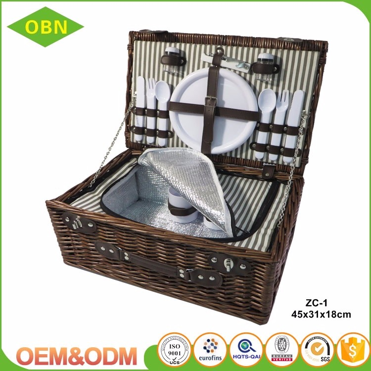2016 New Design Hot Selling Outdoor Empty Wicker Camping Willow ...