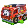 new design inflatable fire truck bouncer combo, inflatable jumper, inflatable bounce house for sale