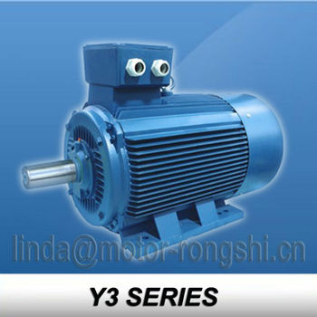 Y3 Series 75 hp electric engine