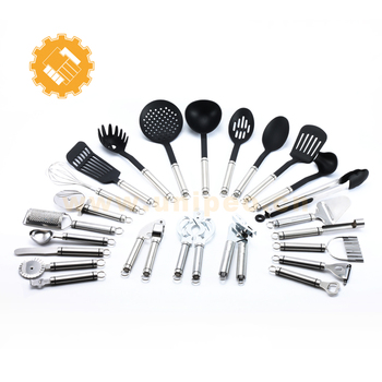 Professional Kitchen ware stainless steel mixing tools palm restaurant surgical steel cookware in india innovative gadget set