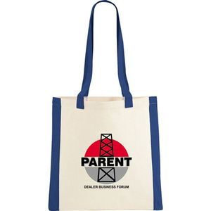 Well Promotion Hot Product Canvas Tote Bag With Gusset