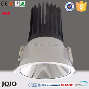 Hotel project anti-glare 7W 10W 18W COB LED recessed spotlights
