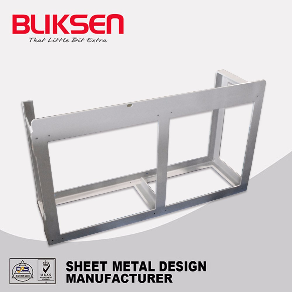Professional galvanized laser cut outdoor metal screen frame