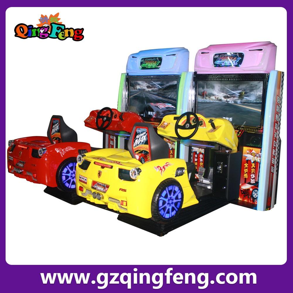 Car Games: Qingfeng Canton Fair Super Mario Car Racing Game Machine