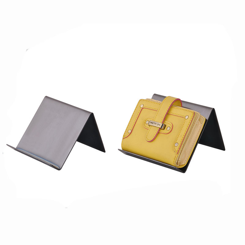 One layer 120*125*80mm leatherware store exhibition BN-1418 wallet display <strong>stand</strong>