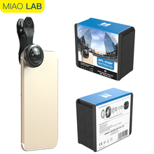 238 Degree Super Fisheye Lens No Dark Corner With Universal Clip Or Phone Case For Iphone5 5C 6 6Plus 7 7Plus 8 X Samsung