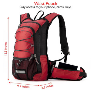 Woqi Bicycle Backpack Riding Traveling Sports Water Bag/Rucksack Hydration packs kit