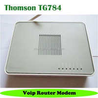 2 fxs port wireless wifi voip router Thomson TG784 ADSL2 modem