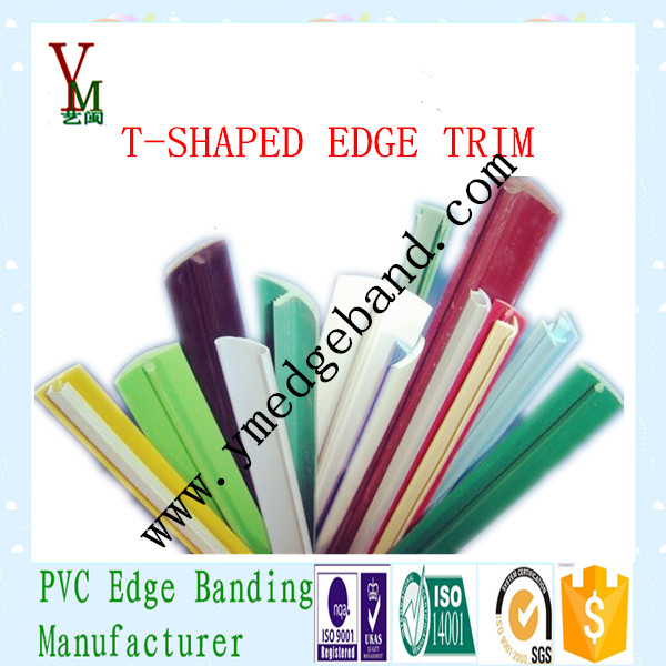 New products on china market T-shaped edge trim for plywood industry