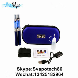 double kit e cigarette ego t /ego ce4 starter kit with ego case
