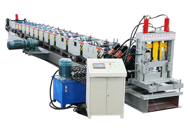 Top quality z purlin steel profile used cold roll forming machine