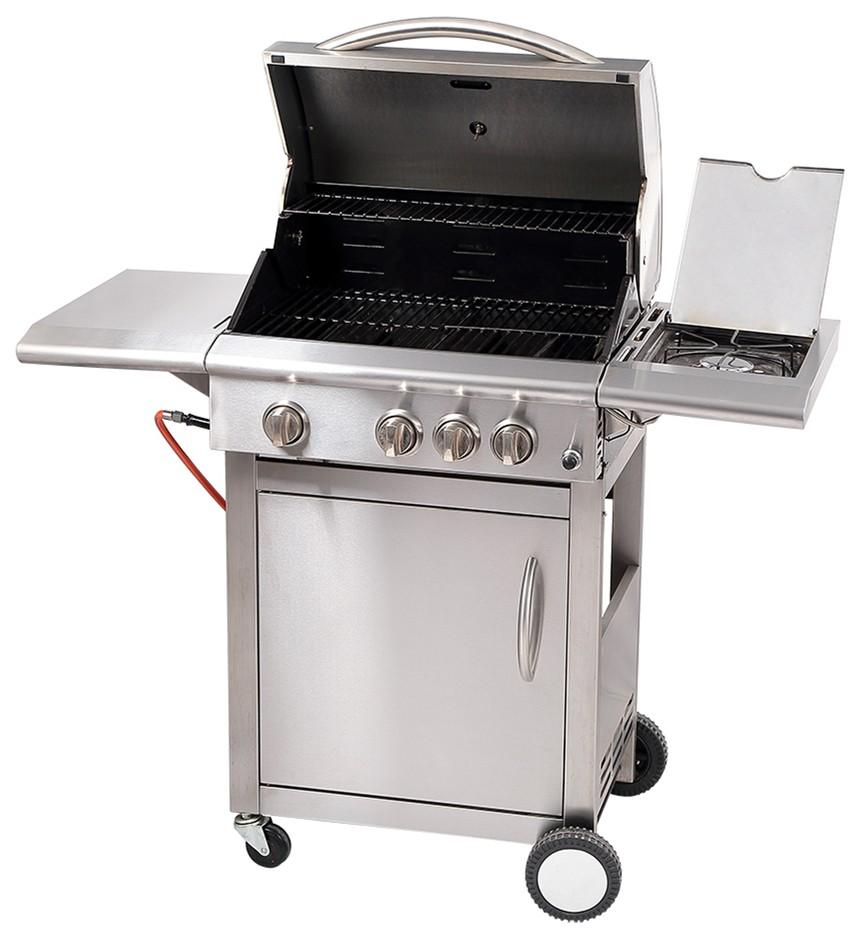 Goedkope goede kwaliteit 3 pits gas bbq grill voor de markt van ...