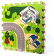 Hospital city interactive road map creative educational learning play mat