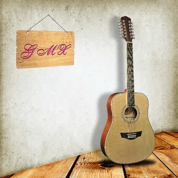 wholesale musical instruments acoustic 12 string acoustic guitar cheap price buy 12 string. Black Bedroom Furniture Sets. Home Design Ideas